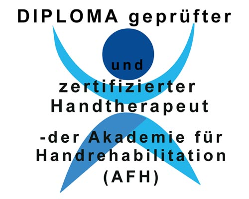 DIPLOMA geprüfter und zertifizierter Handtherapeut