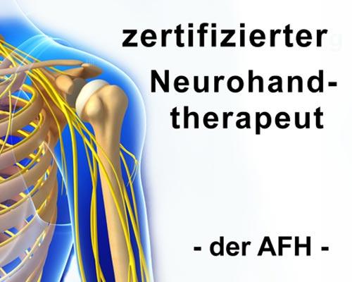 Zertifizierter Neurohandtherapeut